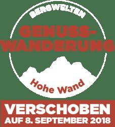 Bergwelten Genusswanderung Hohe Wand