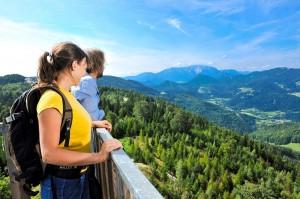 Hohe Wand - Aussichtsturm Fernblick